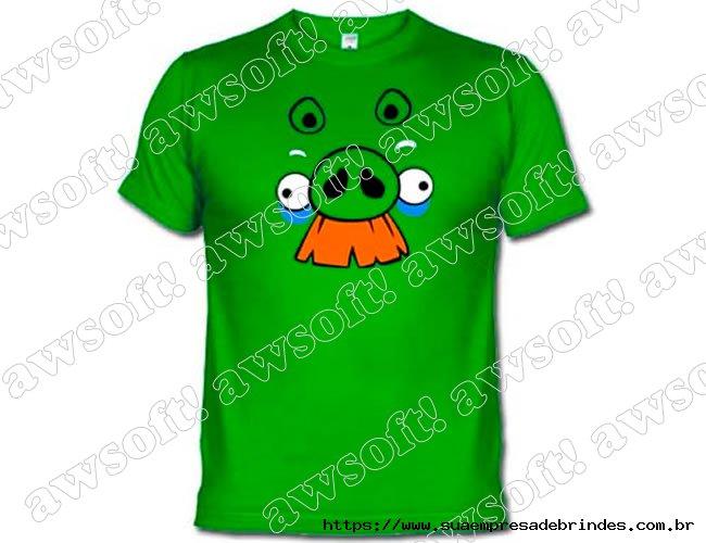 Camiseta Angry Bird Verde